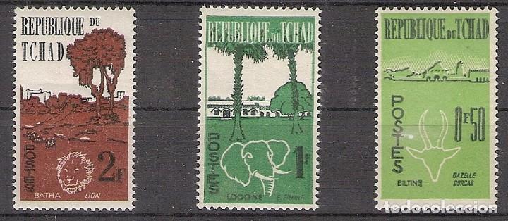 REPÚBLICA DEL CHAD 1962 - YVERT 66/68 ** (Sellos - Extranjero - África - Chad)