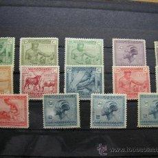 Sellos: CONGO BELGA-CONGO BELGE,1925-27,OFICIOS Y TRABAJOS INDIGENAS,IVERT 118-131,COMPLETA,NUEVOS. Lote 17827044
