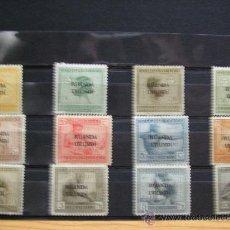 Sellos: RUANDA-URUNDI,COLONIA BELGA,1923,OFICIOS INDIGENAS,COMPLETA,NUEVOS CON GOMA Y SEÑAL DE FIJASELLOS. Lote 17827580