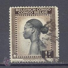 Sellos: CONGO BELGA, 1 SELLOS USADO. Lote 21967022