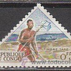 Stamps - Congo, sello tasa Ivert nº 34, cartero, nuevo con goma original completa - 36255041