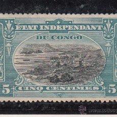 Sellos: CONGO BELGA 14 PEQUEÑO ADELGAZAMIENTO USADA, . Lote 43757400