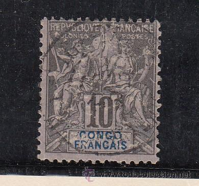 CONGO 16 USADA, (Sellos - Extranjero - África - Congo)