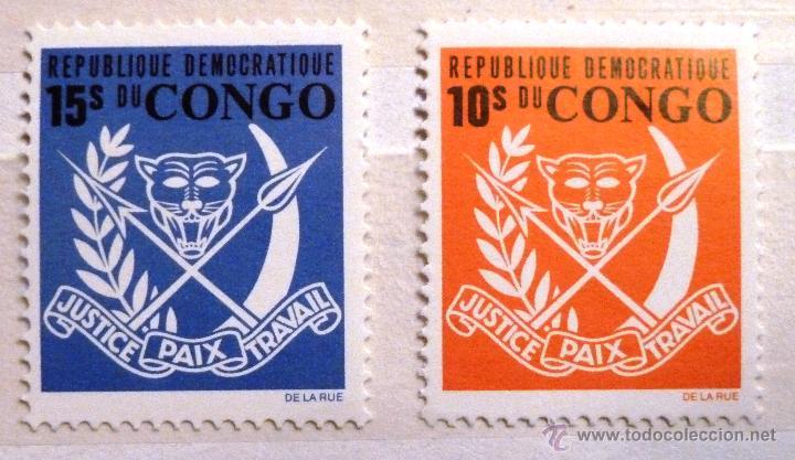 SELLOS CONGO 1969. NUEVOS. (Sellos - Extranjero - África - Congo)