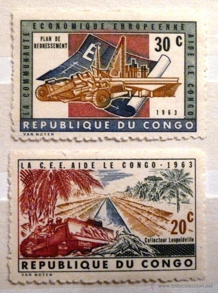 SELLOS CONGO 1963. NUEVOS. (Sellos - Extranjero - África - Congo)