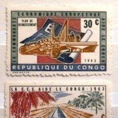 Sellos: SELLOS CONGO 1963. NUEVOS.. Lote 47269229