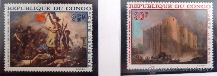 SELLOS CONGO 1968. NUEVOS. (Sellos - Extranjero - África - Congo)
