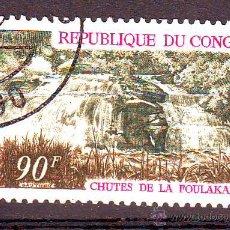Stamps - REPUBLICA DE CONGO.AÑO 1969.PAISAJES.CASCADAS.VALOR NUEVO. - 50584174