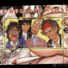 Stamps - Rep. Congo & The Rolling Stones 2009 - 51762287