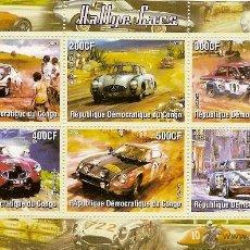 Sellos: REP.CONGO ** & RALLYE CARS 2005 (6). Lote 145979954