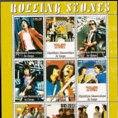 Stamps - Rep. Congo ** & Rock Legends, The Rolling Stones 2009 (34) - 57050436