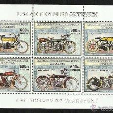 Sellos: CONGO 2006 *** MOTOCICLETAS ANTIGUAS - MOTOS. Lote 58188661