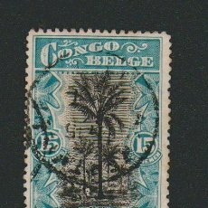 Sellos: CONGO BELGA.1916.-15 CENT.YVERT 66.USADO.. Lote 77728677