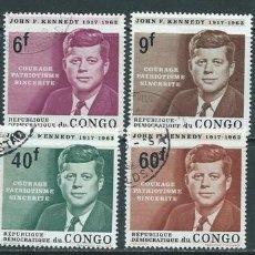 Stamps - Zaire,Congo,1964,serie completa,usados - 88942986
