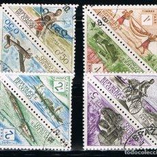 Stamps - CONGO - LOTE DE 8 SELLOS - VARIOS (USADO) LOTE 2 - 98008755