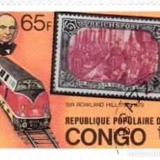 Sellos: 1979 - REPUBLICA DEL CONGO - CENTENARIO DE SIR ROWLAND HILL - YVERT 544. Lote 106778323