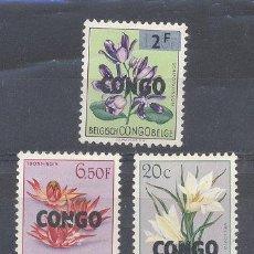 Sellos: CONGO BELGA, USADOS. Lote 112407707