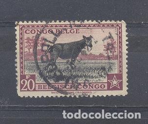 CONGO BELGA,USADO (Sellos - Extranjero - África - Congo)
