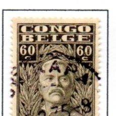 Sellos: CONGO BELGA.- SELLO DE SERIE DEL AÑO 1928, EN USADO. Lote 114040431