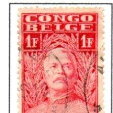 Sellos: CONGO BELGA.- SELLO DE SERIE DEL AÑO 1928, EN USADO. Lote 114040499