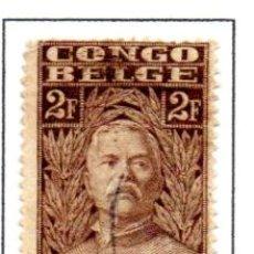Sellos: CONGO BELGA.- SELLO DE SERIE DEL AÑO 1928, EN USADO. Lote 114040571
