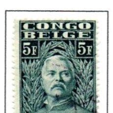 Sellos: CONGO BELGA.- SELLO DE SERIE DEL AÑO 1928, EN USADO. Lote 114040619