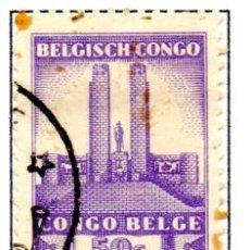 Sellos: CONGO BELGA.- SELLO DE 1941, EN USADO. Lote 114061979