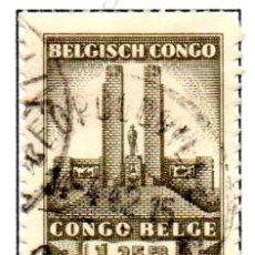 Sellos: CONGO BELGA.- SELLO DE 1941, EN USADO. Lote 114062031