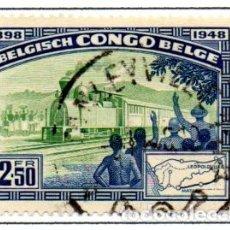 Timbres: CONGO BELGA.- SELLO DE 1948, EN USADOS.. Lote 114064731