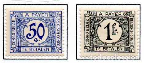 CONGO BELGA.- SELLOS DEL AÑO 1923/39, EN NUEVOS. (Sellos - Extranjero - África - Congo)