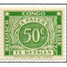 Sellos: CONGO BELGA.- SELLOS DEL AÑO 1943, EN NUEVOS.. Lote 114075627