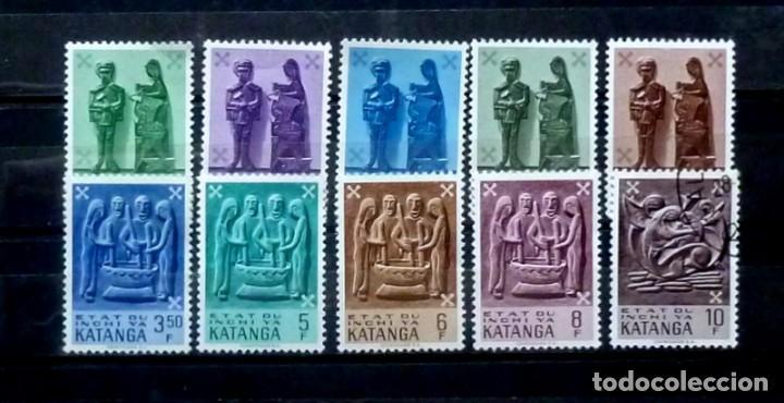 CONGO- 10 SELLOS NUEVOS CON FIJASELLOS-SEMANA DEL SELLO (Sellos - Extranjero - África - Congo)