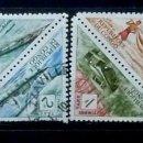 Sellos: CONGO - 8 SELLOS- 2 ESQUINAS TOCADAS. Lote 120234591