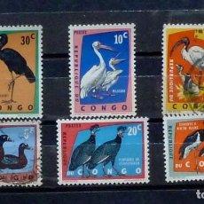 Stamps - Congo- 6 sellos (4 nuevos, 2 usados ) - 120235011
