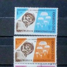 Sellos: CONGO - 3 SELLOS ( 2 NUEVOS)-SEMANA DEL SELLO. Lote 120235651