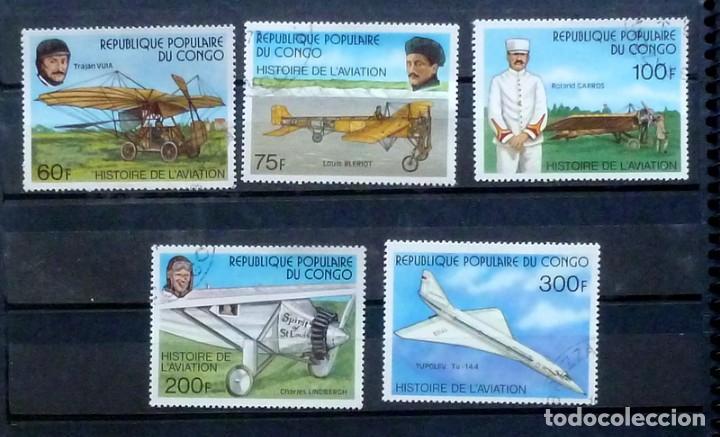 CONGO - SERIE COMPLETA (Sellos - Extranjero - África - Congo)
