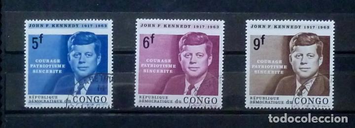 CONGO- SELLOS KENNEDY (Sellos - Extranjero - África - Congo)