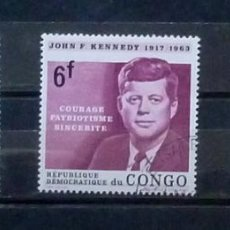 Stamps - Congo- sellos Kennedy - 120236927