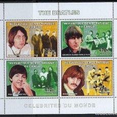 Sellos: REP. DEMOCRATICA DEL CONGO 2006 IVERT 1781/4 *** MUSICA - THE BEATLES. Lote 120443015