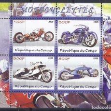 Sellos: CONGO 2009 *** MOTOS - MOTOCICLETAS. Lote 120445931