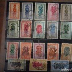 Sellos: CONGO BELGA, SELLOS DE 1948/51. Lote 131481086