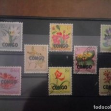 Sellos: CONGO, FLORA, SELLOS DE 1960. Lote 131481590