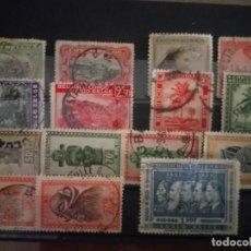 Timbres: CONGO BELGA, 15 SELLOS, ALGUNO CON DEFECTOS. Lote 131481706