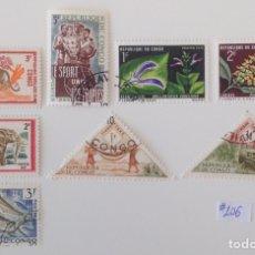 Sellos: LOTE DE 8 SELLOS CTO DE EL CONGO. Lote 145354338
