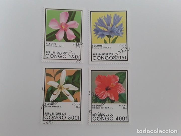 CONGO SELLOS USADOS (Sellos - Extranjero - África - Congo)