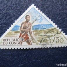 Stamps - congo, 1961 sello de tasa, Yvert 34 - 163561162