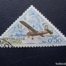 Stamps - congo, 1961 sello de tasa Yvert 35 - 163561246