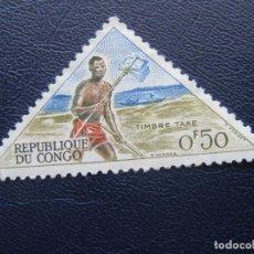 Stamps - congo, 1961 sello de tasa Yvert 34 - 163561402