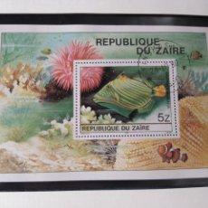Sellos: HOJA BLOQUE ZAIRE(CONGO). Lote 169020841