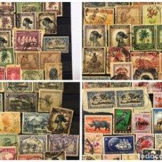 Sellos: LOTE DE 114 SELLOS DEL CONGO BELGA.. Lote 178093559